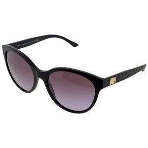 VE4282-51238H Oval Women's Violet Frame Sunglasses